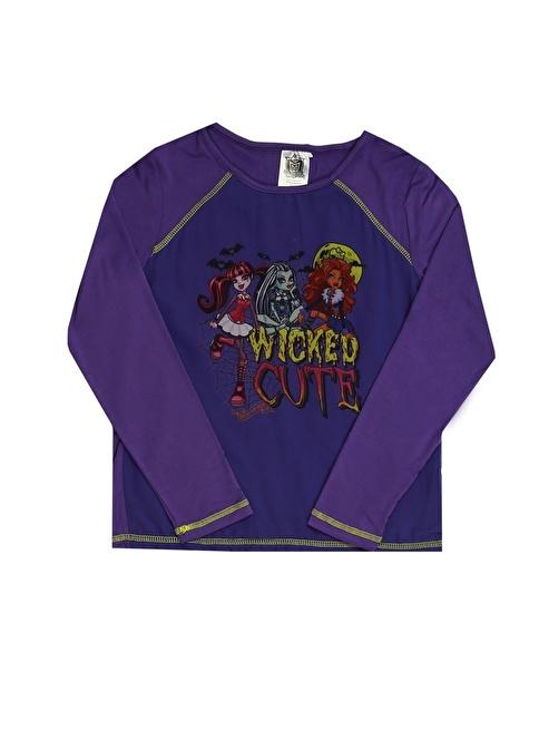 Monster High Tişört Mor